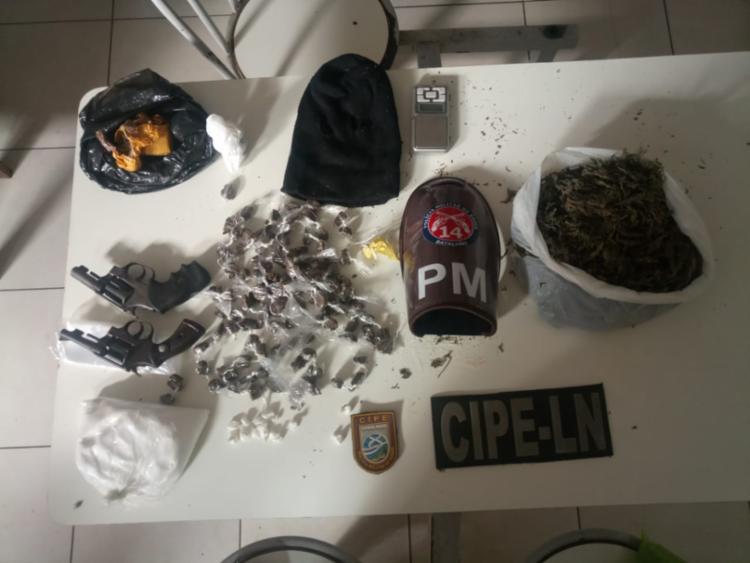 Materiais foram encontrados com Roberto e Werick - Foto: Divulgação | SSP-BA