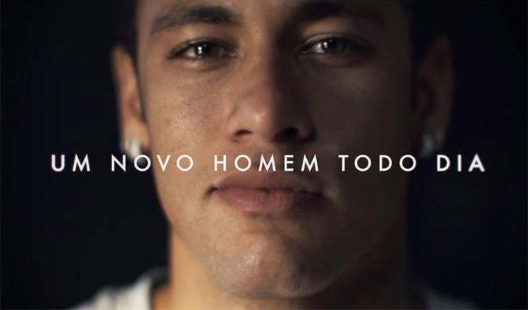 Neymar participou de comercial em que desabafou sobre participação na Copa - Foto: Gille e Neymar Jr. l Divulgação