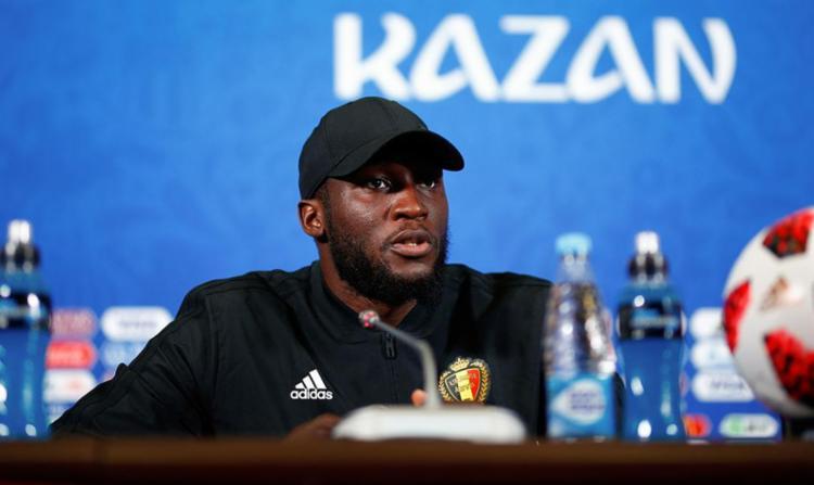 O goleador belga que já marcou 4 vezes nesta Copa - Foto: Benjamin Cremel | AFP