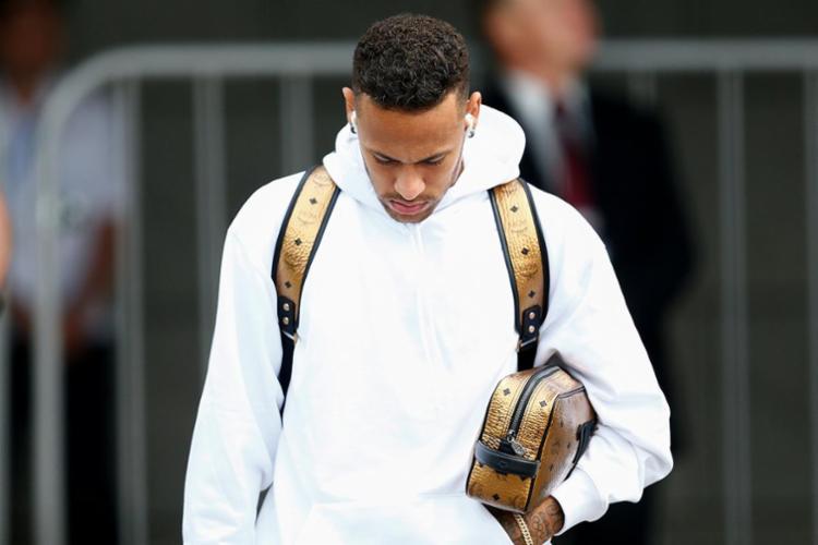 Neymar vai desembarcar no Rio de Janeiro neste domingo, 8 - Foto: AFP