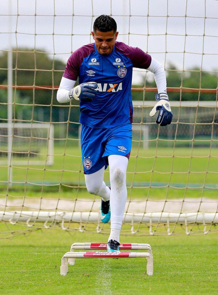 Anderson espera motivação da equipe após a derrota no Nordestão - Foto: Felipe Oliveira l EC Bahia