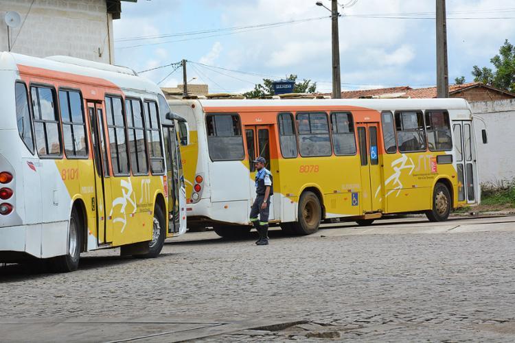 Empresa Viação Vitória tem até 18 de agosto para regularizar a situação dos veículos - Foto: Helinho Sitos l Divulgação