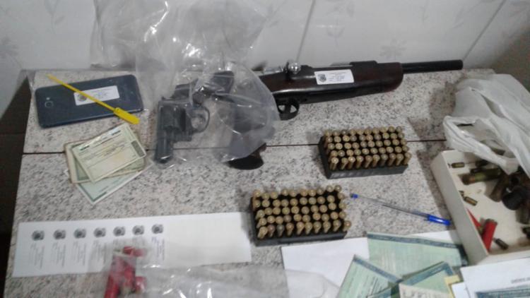 Material apreendido foi apresentado pela Polícia Federal - Foto: Divulgação | Polícia Federal