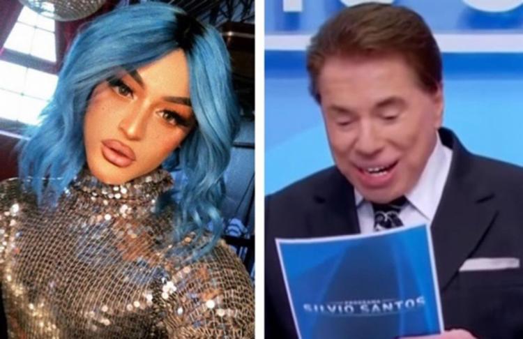 Cantora desaprova alguns comentários feitos pelo apresentador em seu programa - Foto: Reprodução l Instagram l @pabllovittar e Reprodução l Programa Silvio Santos l SBT