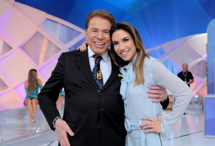 Patrícia tem criticado o pai, Silvio Santos, pelo comportamento no programa - Foto: Divulgação | SBT