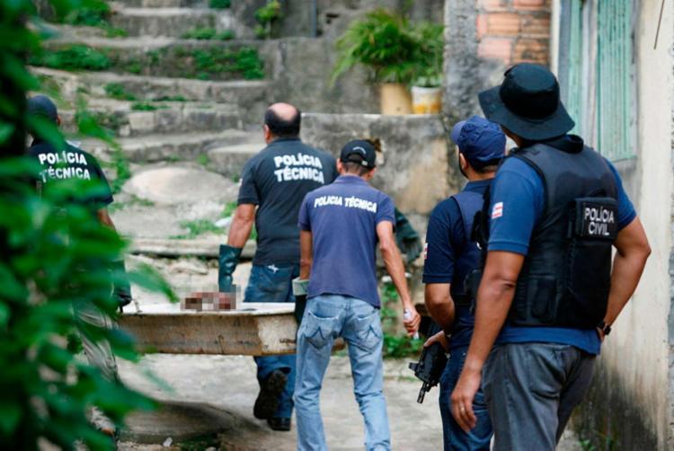 Números colocam Feira na contramão da média geral de mortes violentas na Bahia - Foto: Joá Souza | Ag. A TARDE