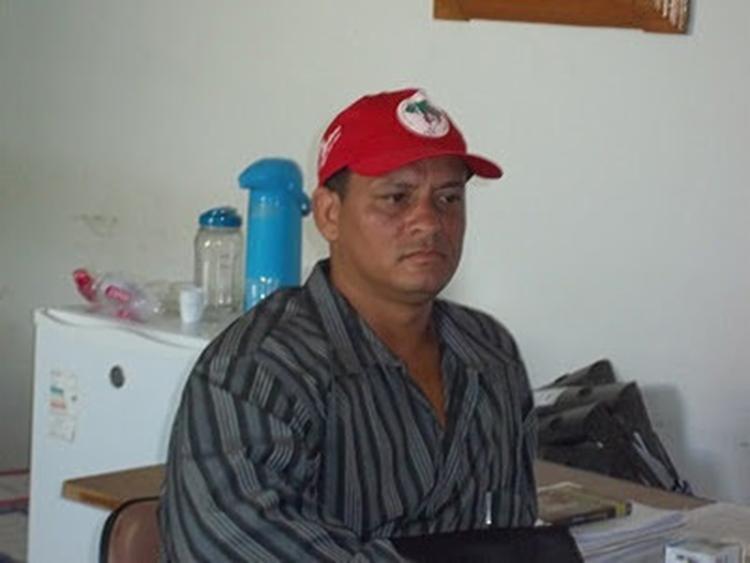 Fábio foi assassinado com 15 tiros na frente da família - Foto: Reprodução   MST