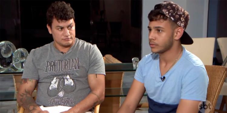 Ex-pugilista falou sobre como o fato de seu filho Ruan ter se assumido homossexual mudou seus hábitos - Foto: Reprodução | SBT