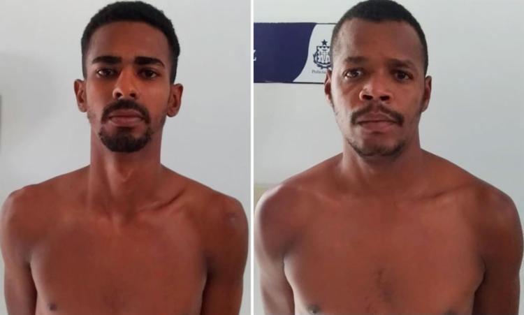 Leonardo e Joseílson também foram presos e apresentados na delegacia