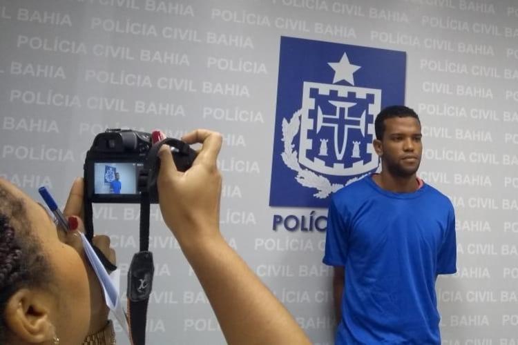 Ramon foi preso e interrogado na noite desta quinta-feira - Foto: Keyla Pereira | Ag. A TARDE