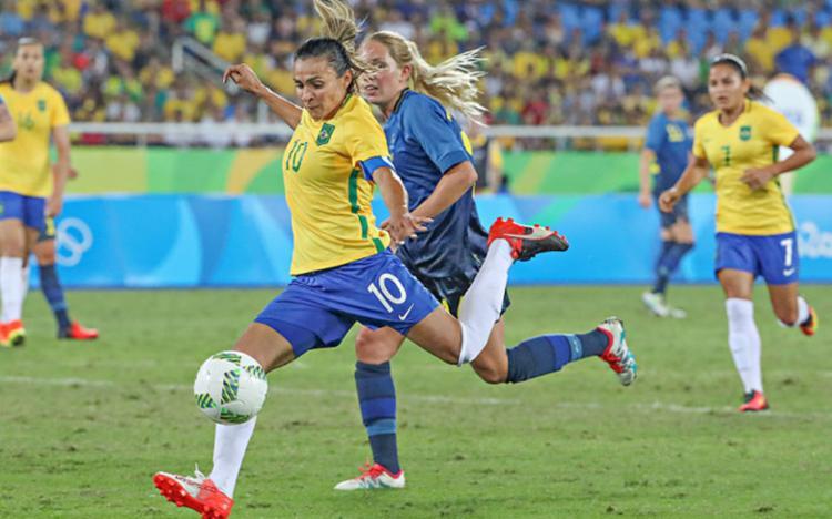 Estudo também aponta que o futebol feminino vem ficando popular nos últimos anos - Foto: Divulgação | CBF