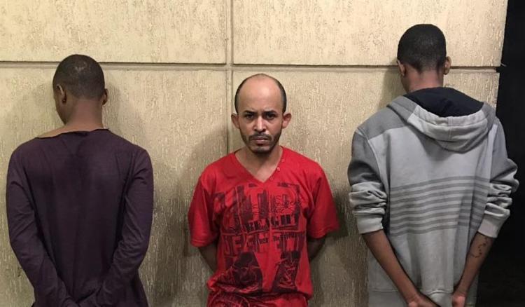 Policiais perceberam que os três suspeitos estavam nervosos dentro do carro - Foto: Divulgação | SSP-BA