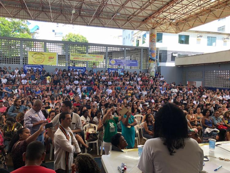 A proposta da prefeitura é de 2,5% de reajuste - Foto: Divulgação | APLB