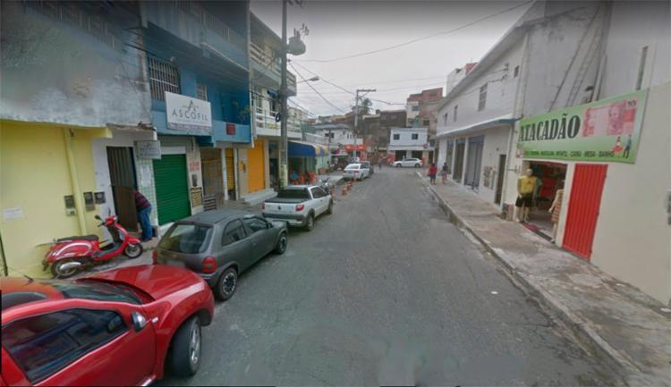 O caso aconteceu na tarde desta sexta-feira, 6, na rua João José Rescala, bairro do Imbuí - Foto: Reprodução | Google Maps