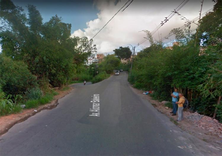 Protesto acontece logo depois da entrada do bairro da Boca da Mata - Foto: Reprodução   Google Maps