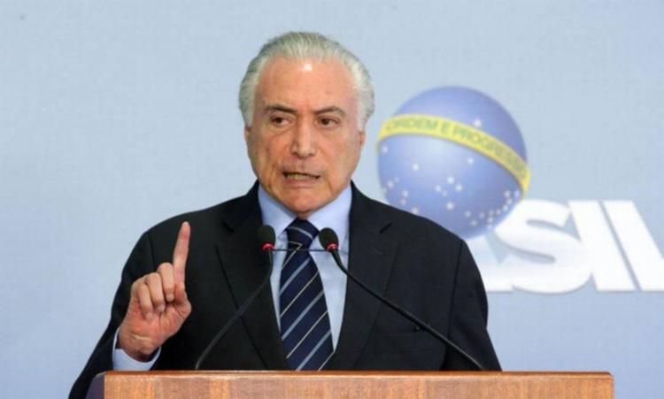 Segundo o presidente, 35 milhões de brasileiros não têm água potável e mais de cem milhões não possuem coleta de esgoto - Foto: Antonio Cruz | Agência Brasil