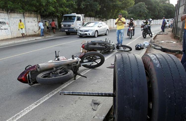 Motocicletas representam 76% das indenizações em todo o país - Foto: Adilton Venegeroles | Ag. A TARDE