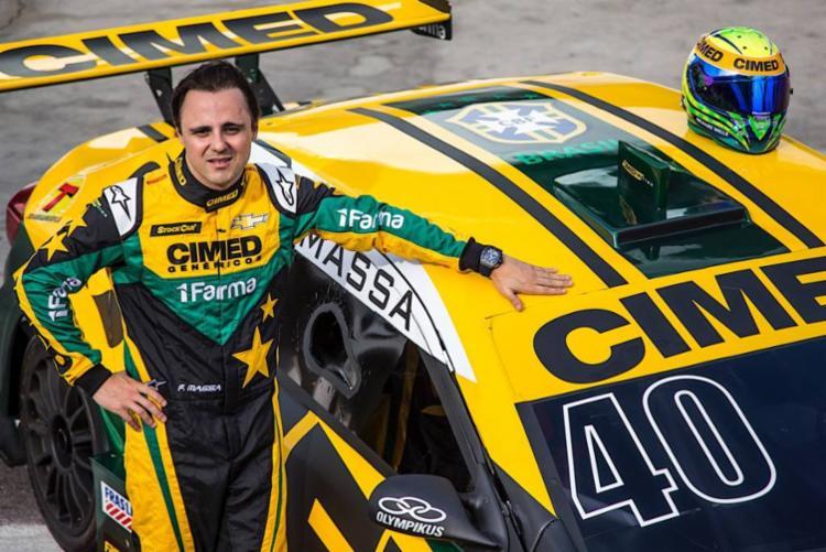 O piloto, vice-campeão da Fórmula 1 em 2008, vai disputar sua segunda prova na categoria - Foto: Bruno Terena l RF1