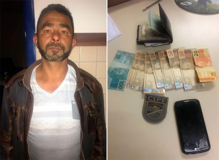 Após insinuação de furto, Nildo dos Santos tentou subornar agentes com R$ 470 - Foto: Divulgação   SSP-BA