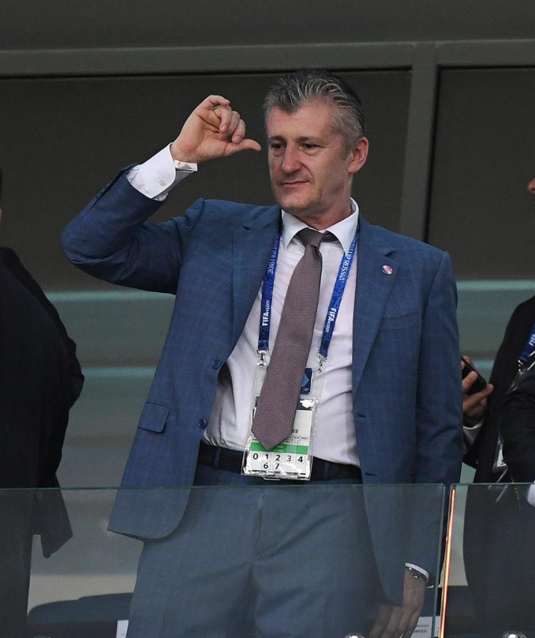 Aos 50 anos, Suker é atualmente o presidente da Federação Croata de Futebol - Foto: Kirill Kudryavtsev l AFP