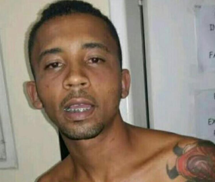 Edimilson estava foragido da Justiça e procurado pela polícia