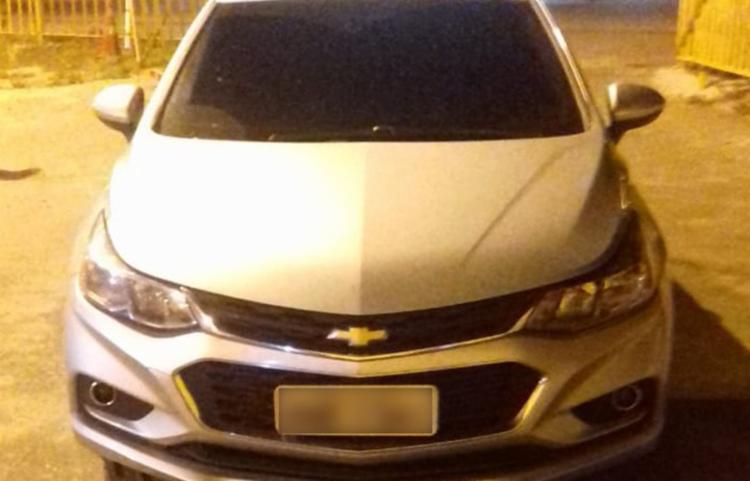 Carro havia sido alugado em abril e locadora estava a procura do locatário - Foto: Divulgação | PRF-BA