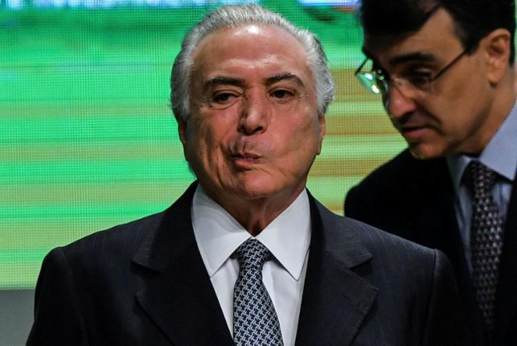 Temer, um governo marcado por escândalos até o fim - Foto: Nelson Almeida | AFP