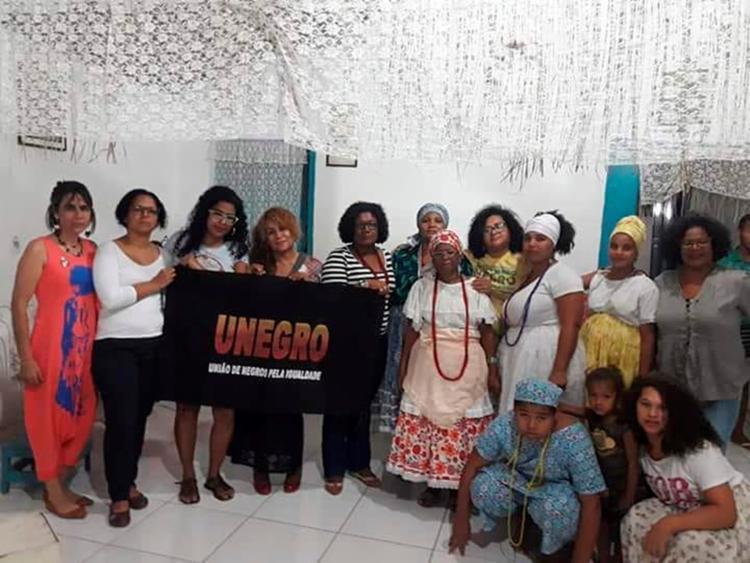 A comunidade do terreiro Oyá Gnan foi agredida | Foto: Unegro Juazeiro l Divulgação - Foto: Unegro Juazeiro l Divulgação