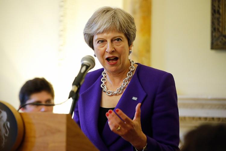 Theresa May, primeira-ministra britânica: