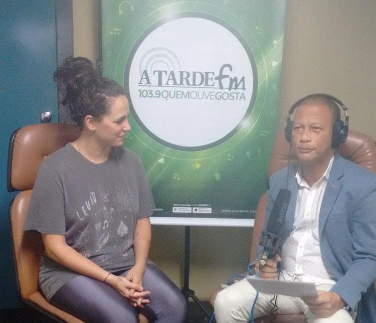 A cantora de 35 anos volta a se apresentar em Salvador - Foto: Silvânia Nascimento   Ag. A TARDE