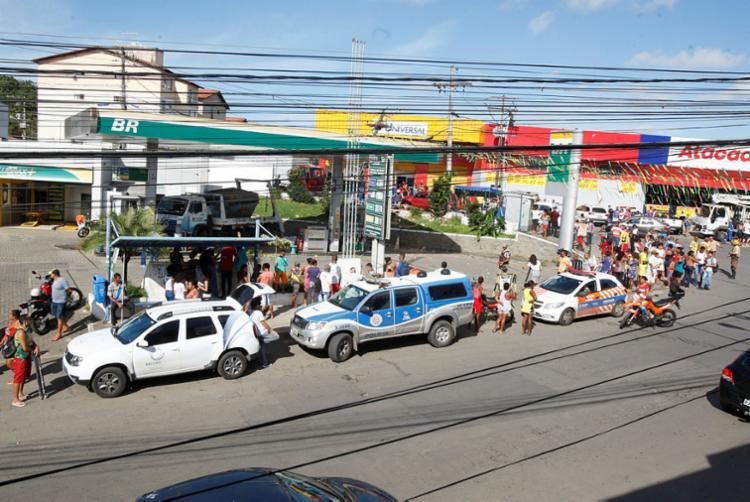 Acidente deixou dois mortos e quatro feridos - Foto: Luciano da Matta   Ag. A TARDE