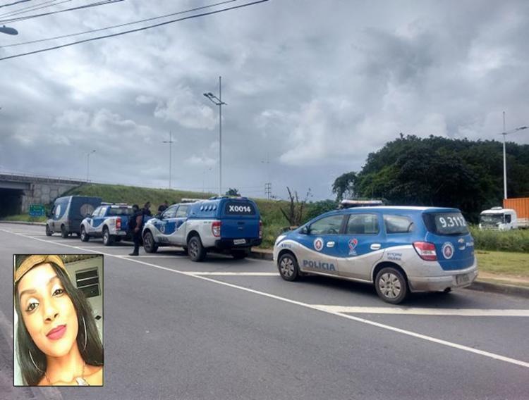 Restos mortais foram achados perto de viaduto - Foto: Euzeni Daltro l Ag. A TARDE e Polícia Civil l Divulgação