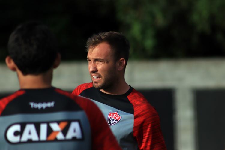 Capitão do time, Willian Farias está no clube desde 2016 - Foto: Maurícia da Matta | EC Vitória