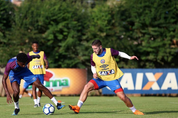Zé Rafael volta ao time titular para encarar o Palmeiras pelas quartas da Copa do Brasil - Foto: Felipe Oliveira l Ag. A TARDE