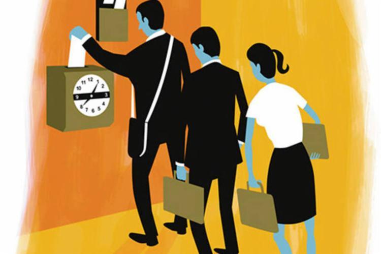 Se você registra o ponto sempre no mesmo horário, pode estar na zona de conforto - Foto: Reprodução | Internet