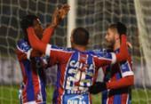 Veja imagens de Atlético Cerro x Bahia pela Copa Sul-Americana | Foto:
