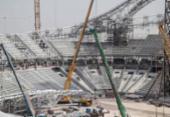 Operário morre em obra de estádio da Copa do Mundo de 2022 | Foto: Karim Jaafar/AFP