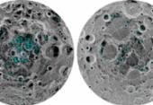 Nasa informa que a lua tem dois depósitos de gelo | Foto: Nasa