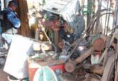 Operação recupera 10 kg de material de iluminação furtado | Foto: Reprodução | Secom