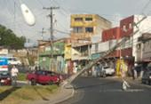 Após queda de poste, energia é regularizada para moradores de Pirajá | Foto: Cidadão Repórter