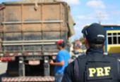 PRF realiza operação para fiscalizar transporte de cargas na Bahia | Foto: Divulgação | PRF