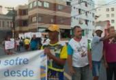 Moradores do Garcia bloqueiam avenida durante protesto | Foto: Reprodução | TV Bahia
