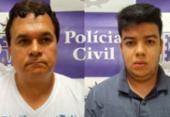 Homens que trocavam droga paraguaia por carros roubados são presos em Salvador | Foto: Divulgação | SSP-BA