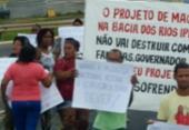 Manifestantes liberam fluxo na Cia/Aeroporto após 3h20 de bloqueio   Foto: Cidadão Repórter   Via WhatsApp