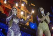 Após 4 meses, Simaria retorna aos palcos em show com Simone | Foto: Reprodução | Globo | Marilia Cabral
