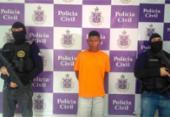 Preso suspeito de tráfico que torturava rivais em Massaranduba | Foto: Divulgação | SSP BA