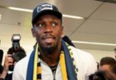 Bolt desembarca na Austrália para treinar em time de futebol | Foto: Saeed Khan | AFP