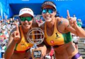 Ágatha e Duda garantem título da temporada no vôlei de praia | Divulgação l FIVB