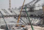 Operário morre em obra de estádio da Copa de 2022 | Karim Jaafar/AFP
