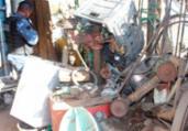 Operação recupera 10 kg de material de iluminação furtado | Reprodução | Secom